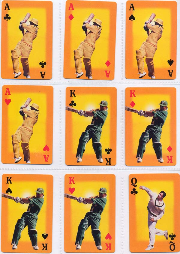 Benson & Hedges 1995-96 Playing Cards