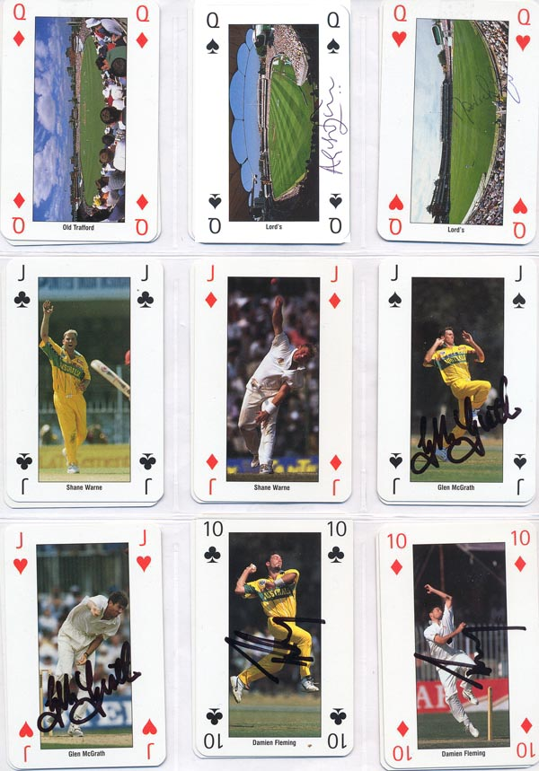 Collectable Cards 1999 World Cup England