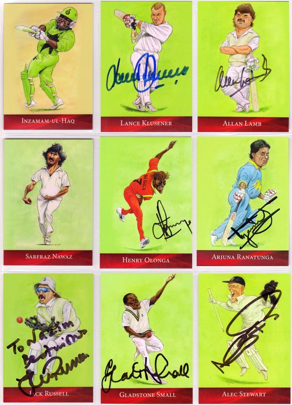 Cow Corner 2015 Cricket Characters Cards John Ireland - Warriors (18)