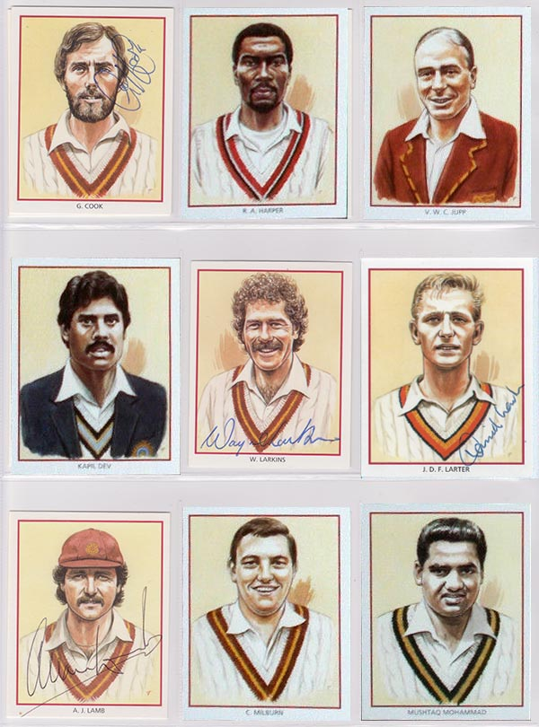 County Print Northamptonshire Test Cricketers (25)