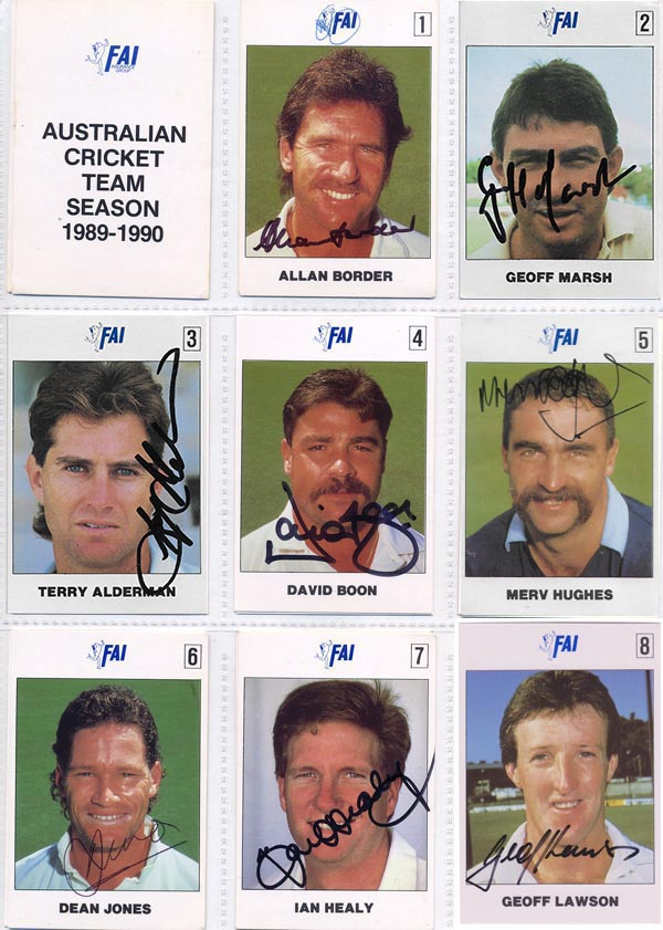 FAI 1989-90 Aus Cricket Team (24)