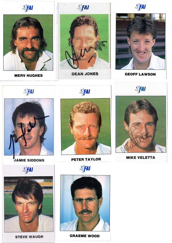 FAI 1989-90 WI/AUS Cricket Teams (35)