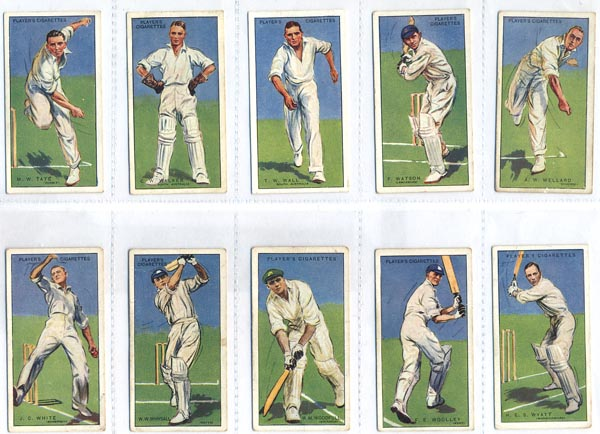 John Player and Sons 1930 Cricketers (50)
