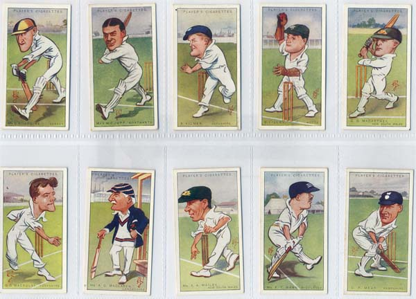 John Player and Sons 1926 Caricatures By RIP (50)