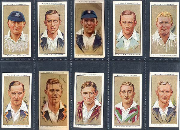John Player and Sons 1934 Cricketers (50)