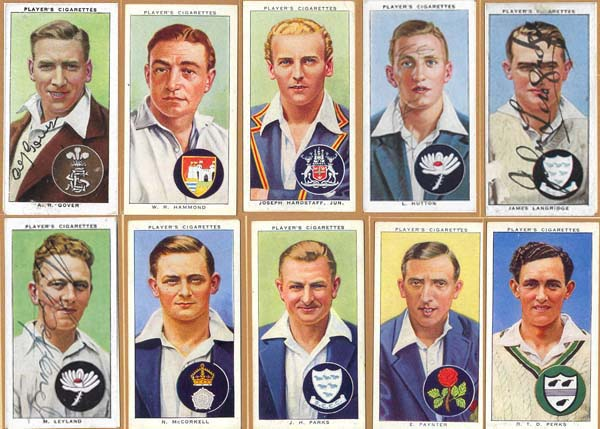John Player and Sons 1938 Cricketers (50)