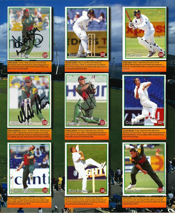 Select 1997-98 Stickers (156)