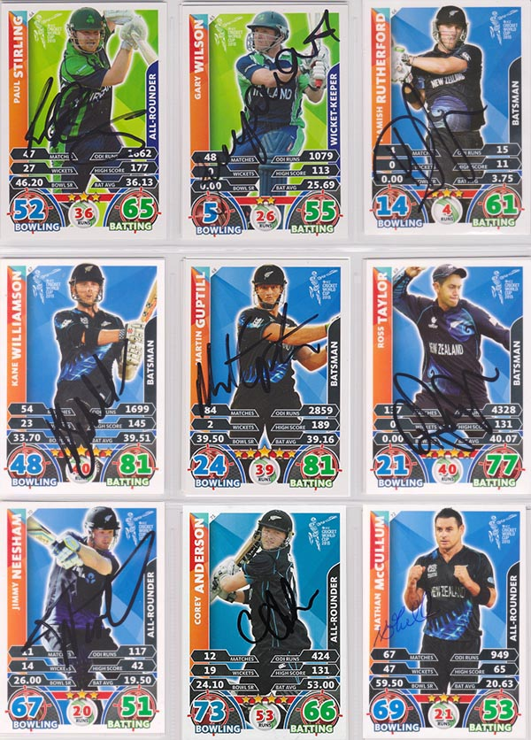 Topps 2015 Cricket Attax World Cup (208)