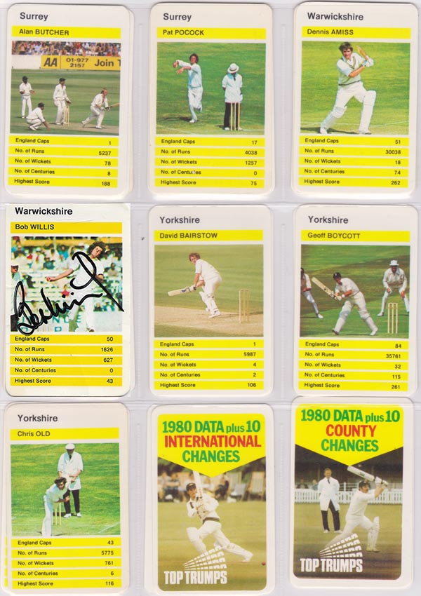 Top Trumps Card Game 1980s (Set 1)