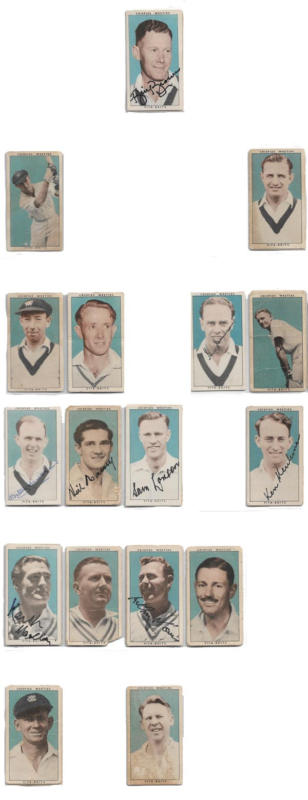 Weeties Crispies Vita-Brits 1948 Leading Cricketers (32)