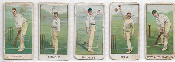Wills 1903 Cricketers (25)