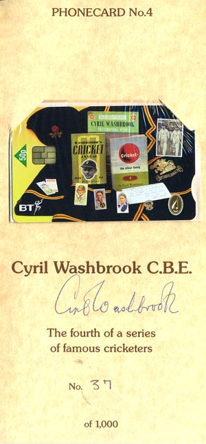 Washbrook, Cyril