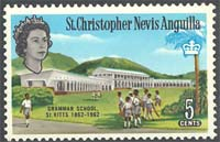St Kitts/St Kitts Nevis/St Kitts Anguilla 1963