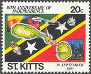 St Kitts/St Kitts Nevis/St Kitts Anguilla 1993